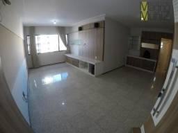 Apartamento com 3 dormitórios para alugar, 116 m² por r$ 1.000,00/mês - cocó - fortaleza/c