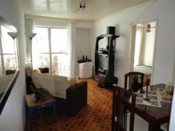 Apartamento à venda com 1 dormitórios em Capoeiras, Florianópolis cod:76911