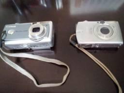 2 Máquinas fotográficas Canon