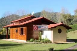 Chácara com 2 dormitórios à venda, 3000 m² por r$ 800.000,00 - santa cruz - santo antônio