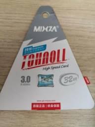 Cartão de memória 32gb (Micro Sd card)Mixza Classe 10 Lacrado