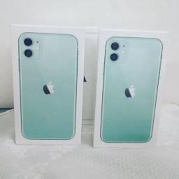 iPhone 11 128gb Verde e Branco lacrado (Olindaimport
