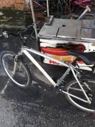 Bike Caloi alumínio polido semi novo