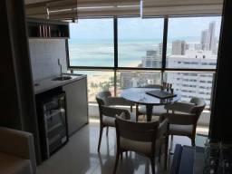 Título do anúncio: AR / Apartamento no porcelanato, lazer completo a 50m do mar em Candeias