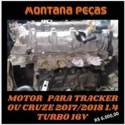 Motor para Tracker ou Cruze 2017/2018 1.4 Turbo 16V