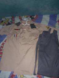 Uniforme do Colégio Militar da polícia