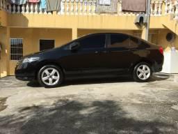 Honda City Preto LX 1.5 16V (FLEX) - Ipva 2020 Pago - 2010