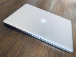MacBook Pro Tela 15? 16GB RAM HD500 SSD Silver