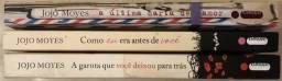 3 livros da Jojo Moyes em bom estado