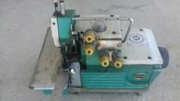 Máquina costura industrial Interlock e Reta