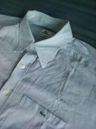 Camisa lacoste de botão