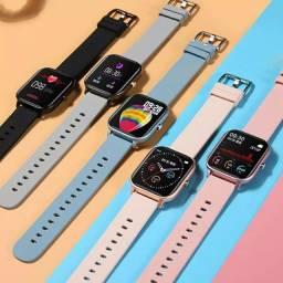 P8 smartwatch 3 cores disponíveis