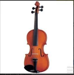 Violino Infantil 1/2 Michael Vnm11 Tradicional + Case