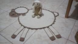 Animaizinhoe e tapetes de crochê