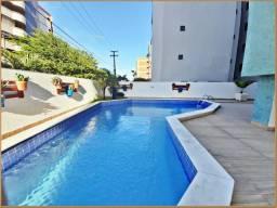 Morar bem! Apartamento no Cabo Branco, 3quartos, 106m²,com mobília nova, próximo à praia