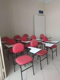 Cadeiras universitárias alcochoadas