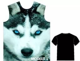 Camisas personalizadas Husky siberiano