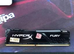 Memória DDR4 8GB HyperX