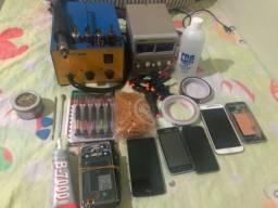 Kit para manutenção de celulares