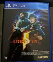 Vendo Resident Evil 5 - PS4