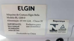 Maquina de Costura Elgin Bella - Modelo BL-1200-0 - Com Bolsa