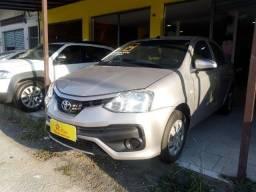 Toyota Etios 1.5 x Compl + Gnv ent 48 x 849,00 Fixas no Cdc 1ª Parcela por conta da loja