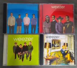 Cds Weezer Blue Green Red Album