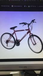 Bicicleta Aro 26 Houston Foxer Hammer com 21 Marchas