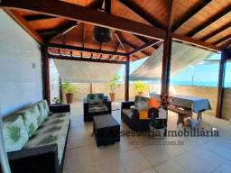 L.U.X.U.O.S.A Cobertura Duplex com Vista para o Mar 5 Qts, 4 Vagas na Praia de Itaparica!