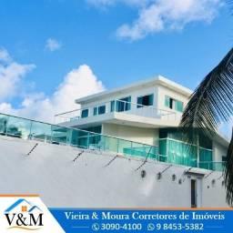 Ref. 607 -N060821- Palácio à Beirar Mar , 5 quartos, três andares, com sauna e piscina