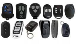 Controles para portão cerca elétrica e alarmes - Codificados
