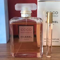 Título do anúncio: Chanel Coco Mademoiselle Amostra Decant 10ml 150 Borrifadas