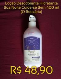 Loção Hidratante Boa Noite Cuide-se Bem 400 ml (O Boticário)