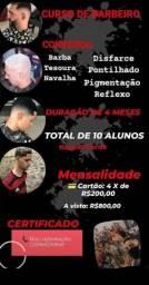 Título do anúncio: CURSO BARBEIRO