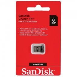 Título do anúncio: Mini pen drive 8gb sandisk Nano