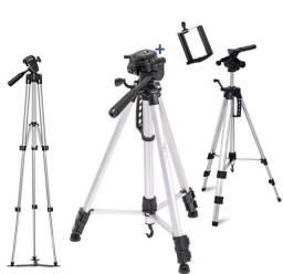 Tripé Fotografico profissional de 1,80m com suporte de celular e bolsa