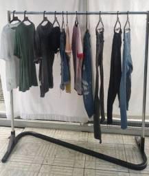 Arara cromada para roupas (super Resistênte)