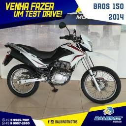 Bros 150 2014 Branca