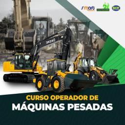 Título do anúncio: CURSO DE MAQUINAS PESADAS RETROESCAVADEIRA-PÁ CARREGADEIRA- ESCAVADEIRA HIDRÁULICA