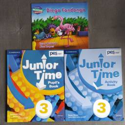 Apostila PES Positivo - Book Junior Time 3