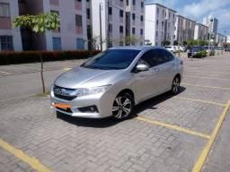 Honda City EXL; 2015/2015; CVT; Versão Completa