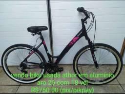 Vendo bike em alumínio athor.