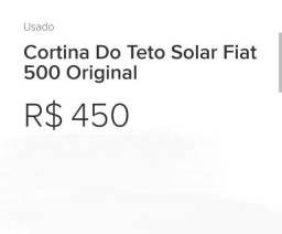 Cortina teto Fiat 500 cinquencento