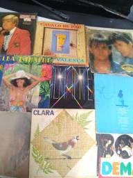 Coleção de Disco de vinil antigo