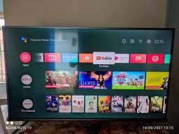 Tv smart android 50 polegadas 4k HDR com nota fiscal