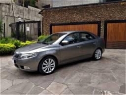 Kia Cerato SX3, 1.6 automatico, Top, 78.000km, Impecável, financio