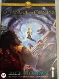 Livro de Rick Riordan,Os Heróis do Olimpo- O Sangue do Olimpo