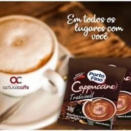 Café Cappuccino Porto Fino Tradicional 10 Sachês com 10g cada