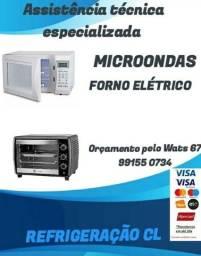 Título do anúncio: Conserto em microondas e fornos elétricos