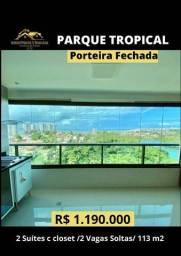 Título do anúncio: Parque Tropical Porteira Fechada 2 vagas soltas